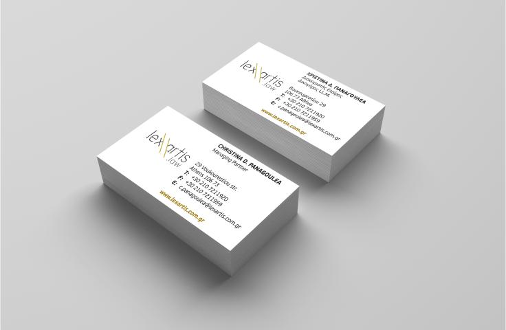 Εκτύπωση επαγγελματικων καρτων για δικηγορους